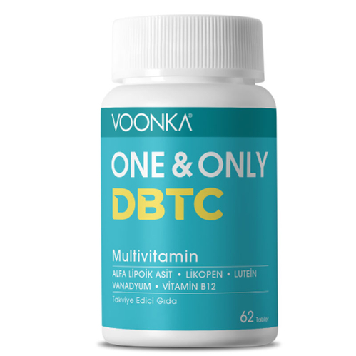 Voonka - Voonka One And Only DBTC Multivitamin 62 Tablet