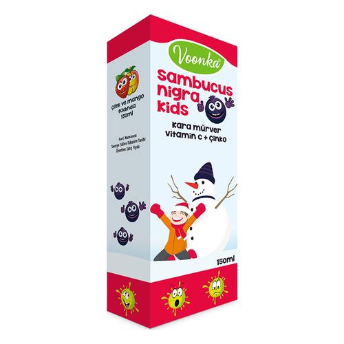 Voonka - Voonka Sambucus Nigra Kids Şurup 150ml