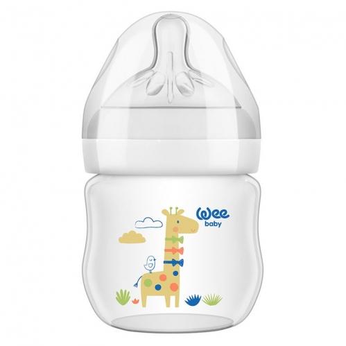 Wee Baby - Wee Baby Natural PP Biberon 125 ml - 0-6 Ay