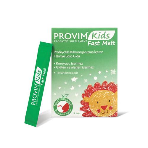 Wellcare Provim Kids Fast Melt Probiyotik Takviye Edici Gıda 14 Saşe