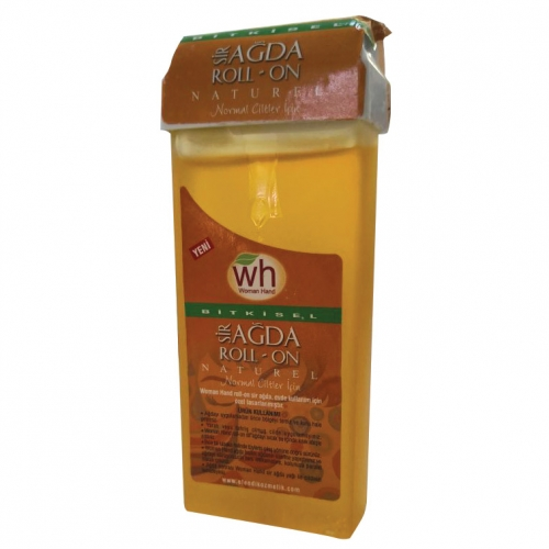 Woman Hand - Woman Hand Bitkisel Sir Ağda Roll On Naturel 100ml Normal Ciltler İçin