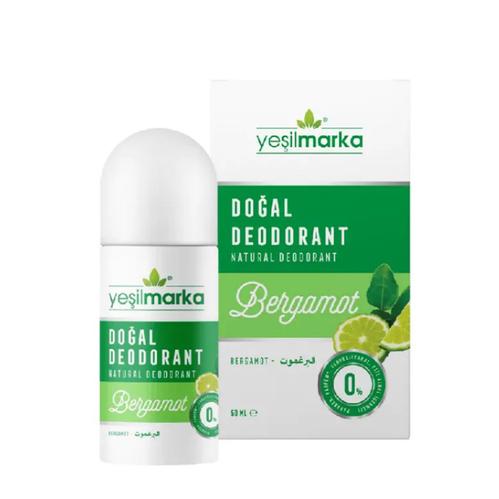 Yeşilmarka - Yeşilmarka Doğal Bergamot Kokulu Deodorant 50 ml