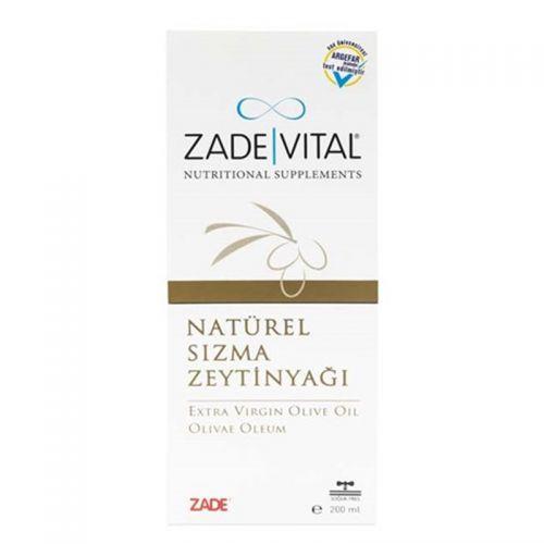 Zade Vital - Zade Vital Doğal Sızma Zeytinyağı Sıvı Cam Şişe 200 ml