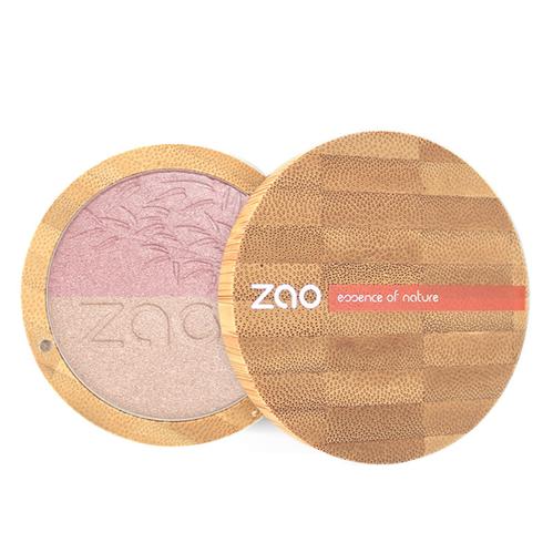 Zao Organic - Zao Organic Shine-up Powder duo 311 Pink & gold 9 gr