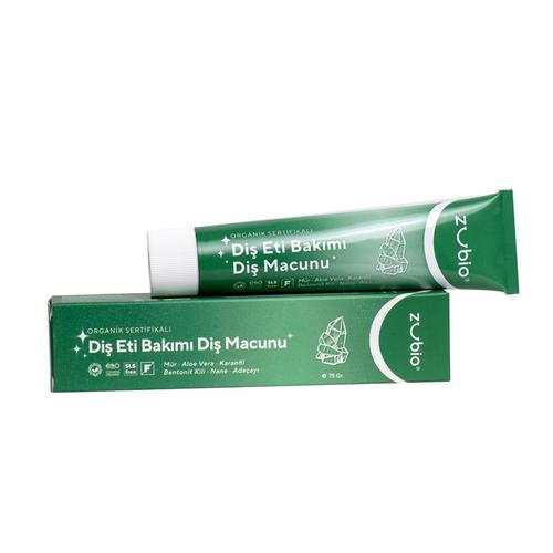 Zubio Organic - Zubio Organic Diş Eti Bakımı Diş Macunu 75 gr