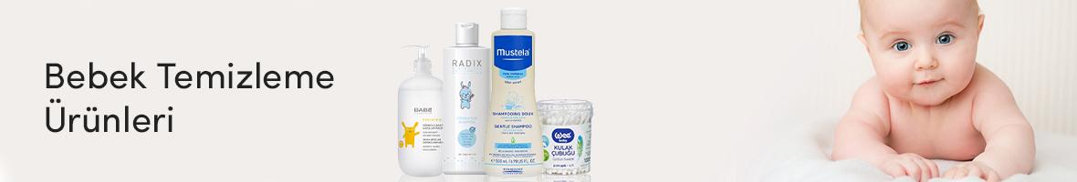 Bebek Temizleme Ürünleri