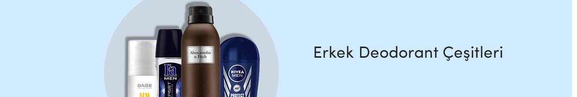 Erkek Deodorant Çeşitleri