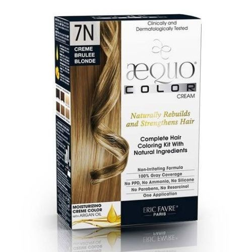 AEQUO Color - Aequo Color Saç Boyası 7N Creme Brulee Blonde