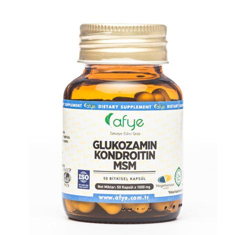Afye - Afye Glukozamin Kondroitin Msm 1000mg-50Kapsül