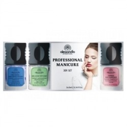 Alessandro - Alessandro Professional Manicure Seti 3x5mL