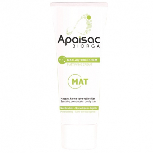 Biorga - Apaisac Biorga Mattifying Cream 40 ml