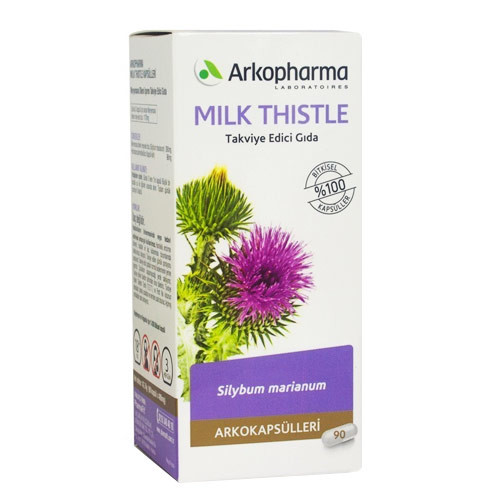 ArkoPharma - Arkopharma Milk Thistle 90 Kapsül