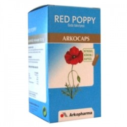 ArkoPharma - Arkopharma Red Poppy (Gelincik) Yaprağı Tozu 45 Kapsül