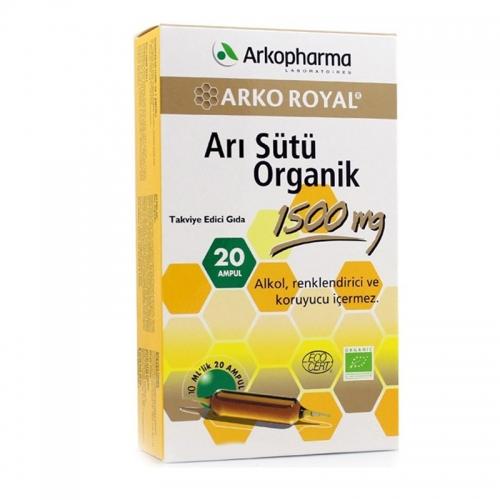 Arkopharma Royal Jelly Organic 20 Ampül 10ml
