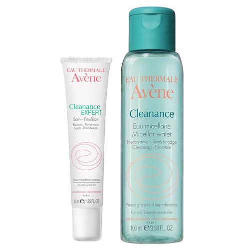 Avene - Avene Cleanance Matlaştırıcı Krem 40 ml | Cleanance Yüz Temizleme Suyu 100 ml HEDİYE