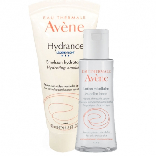 Avene - Avene Hydrance Optimale Legere 40 ml | Lotion Micellaire 100 ml HEDİYE