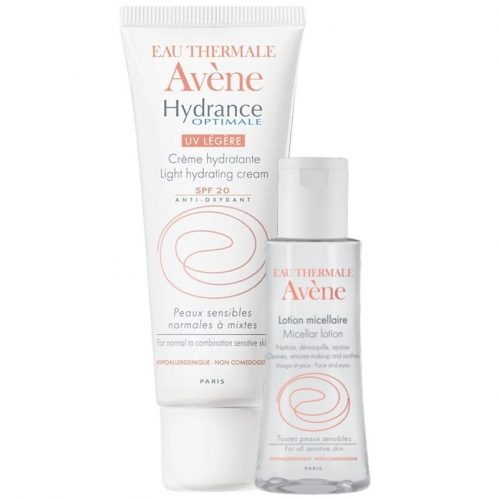 Avene - Avene Hydrance Optimale Legere Spf 20 40ML | Lotion Micellaire 100 ml HEDİYE