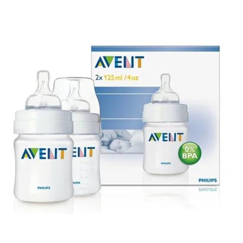 Avent - Avent Biberon 0m+ 2x125 ml - SCF680/62