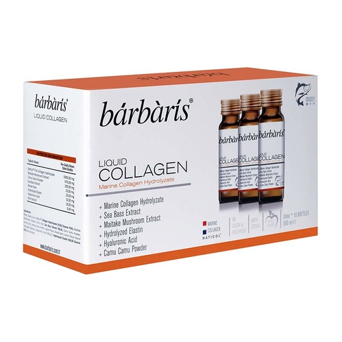 Barbaris - Barbaris Liquid Collagen Takviye Edici Gıda 50 ml 10 adet