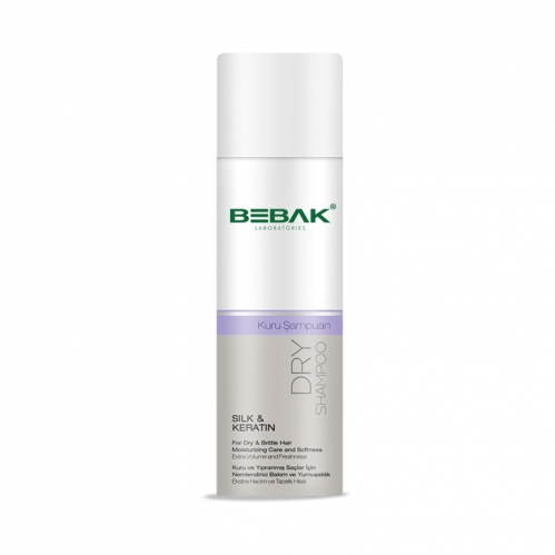 Bebak - Bebak Silk and Keratin Nemlendirici Kuru Şampuan 200 ml