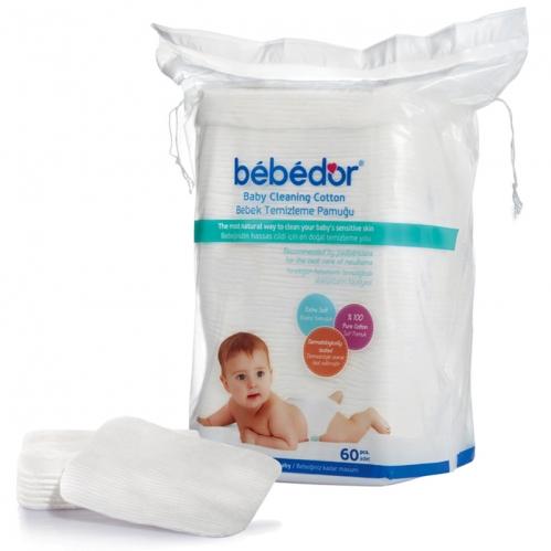 Bebedor - Bebedor Bebek Temizleme Pamuğu 60 Adet