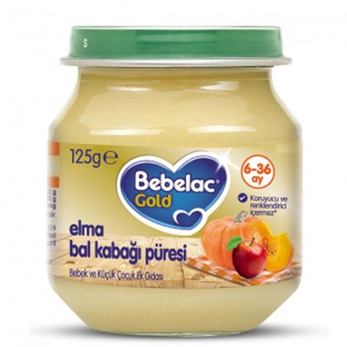 Nutricia - Bebelac Gold Bahçe Bal Kabağı Püresi 125 gr | +6 Ay