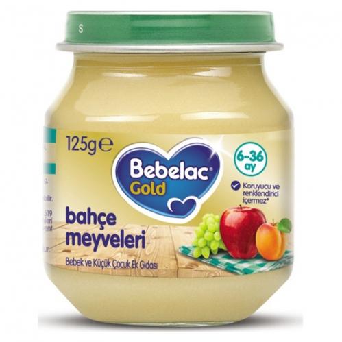 Nutricia - Bebelac Gold Bahçe Meyveleri Püresi 125 gr | 6.aydan itibaren