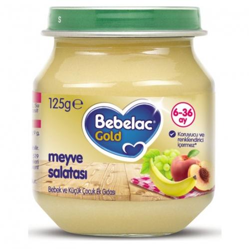 Nutricia - Bebelac Gold Meyve Salatası Püresi 125 gr | +6 Ay