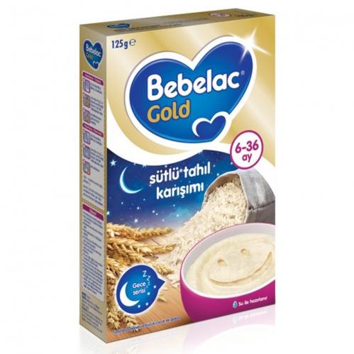 Nutricia - Bebelac Gold Sütlü Tahıl Karışımı Kaşık Maması 125 gr | 6-36 ay