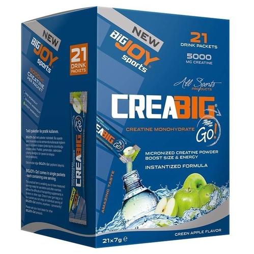 Bigjoy - Bigjoy Creabig Go Yeşil Elma 7 g x 21 Adet