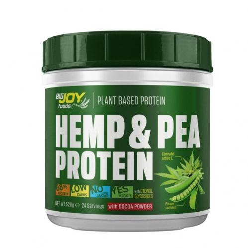 Bigjoy - Bigjoy Foods Hemp Pea Protein Çikolata 528 gr