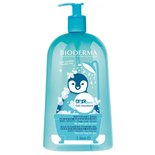 Bioderma Abcderm - Bioderma Abcderm Foaming Cleanser 1Litre
