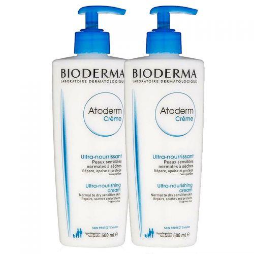 Bioderma Atoderm Creme 2x500ml