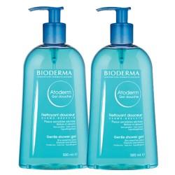 Bioderma - Bioderma Atoderm Gentle Shower Gel 2x500ml