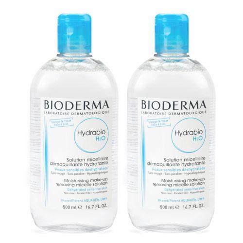 Bioderma Hydrabio H2O 2x500ml
