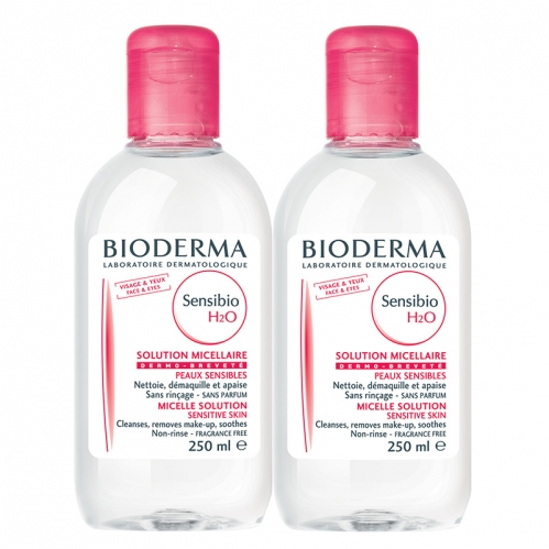 Bioderma - Bioderma Sensibio H2O 250ml İkincisi Bedava