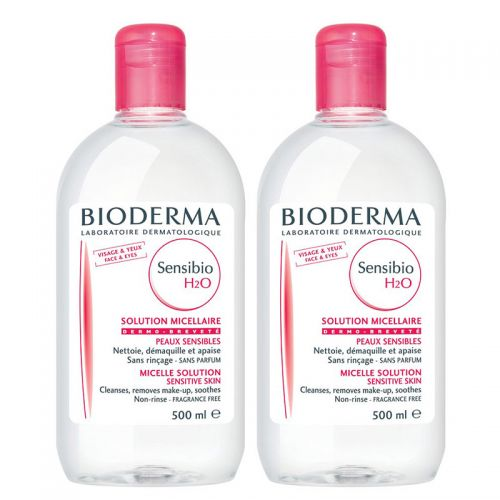 Bioderma Sensibio H2O İkili Set 500 ml + 500 ml