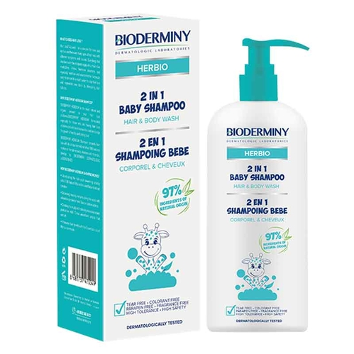 Bioderminy - Bioderminy 2 In 1 Baby Shampoo 250 ml