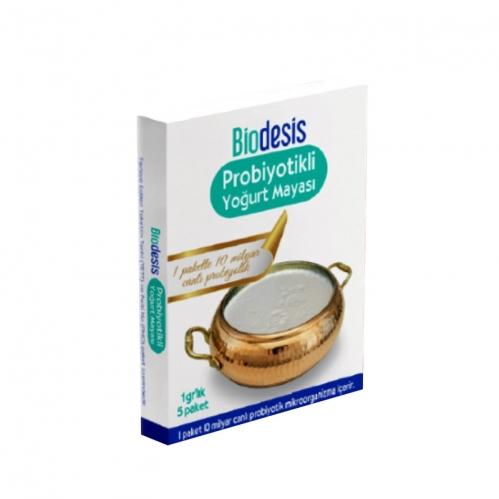 Biodesis - Biodesis Probiyotikli Yoğurt Mayası 1gr x 5 Adet