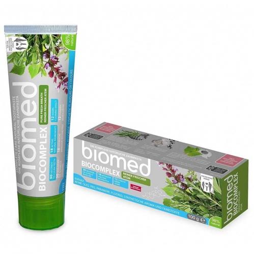 Biomed - Biomed Biocomplex Tam Bakım Sağlayan Doğal Diş Macunu 100 gr