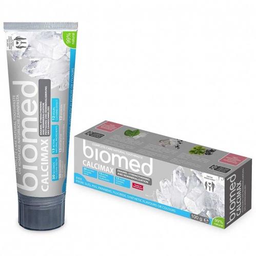Biomed - Biomed Calcimax Tam Bakım Sağlayan Doğal Diş Macunu 100 gr