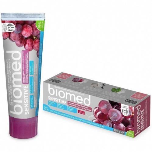 Biomed - Biomed Sensitive Tam Bakım Sağlayan Doğal Diş Macunu 100 gr