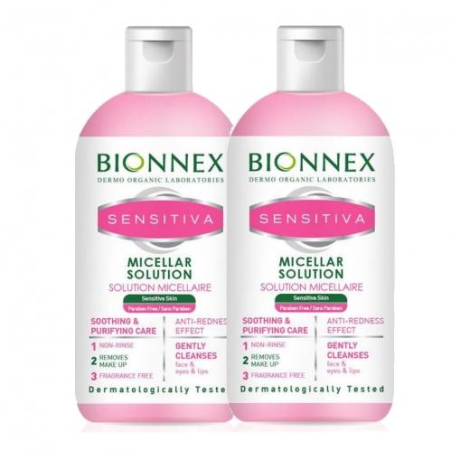 Bionnex - Bionnex Sensitiva Misel Solüsyon 500ml | Misel Solüsyon 500ml HEDİYE