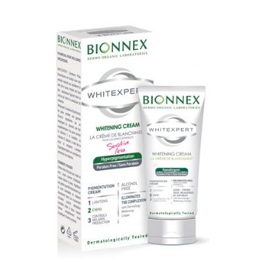 Bionnex - Bionnex Whitexpert Hassas Bölgeler için Aydınlatıcı - Beyazlatıcı - Leke Bakım Kremi 50ml