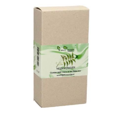 Biopark Cosmetics - Biopark Cosmetics Öğütülmüş Saf Neem Ağacı Yaprağı Tozu 100 gr
