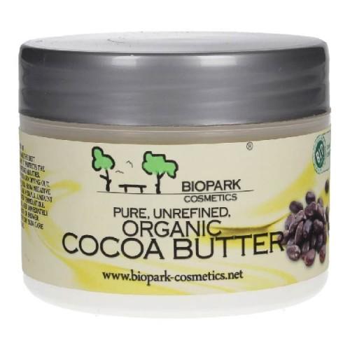 Biopark Cosmetics - Biopark Cosmetics Saf Soğuk Pres Organik Kakao Yağı 100 gr