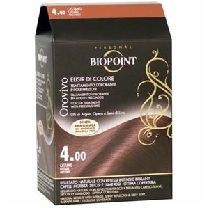 Biopoint - Biopoint Orovivo Saç Boyası 4 Kestane