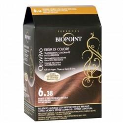 Biopoint - Biopoint Orovivo Saç Boyası 6.38 Fındık Çikolata