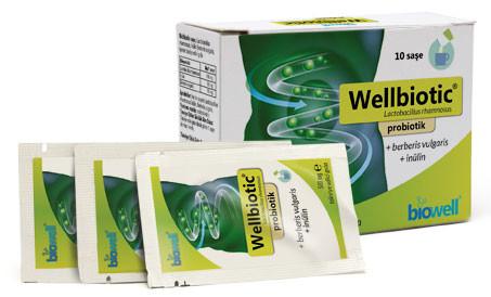 Biowell - Biowell Wellbiotic Probiotik 10 Saşe-5gr