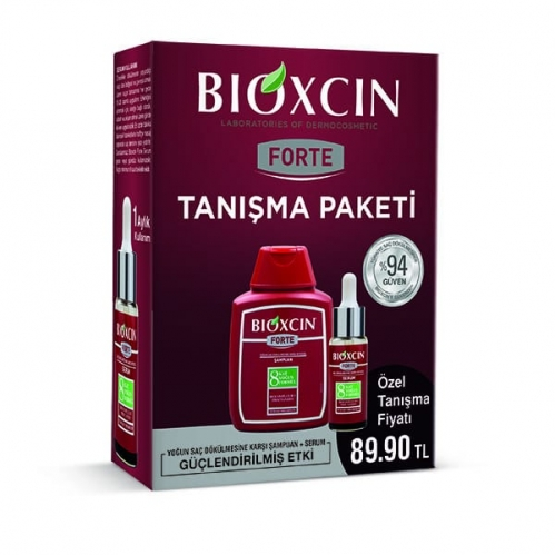 Bioxcin - Bioxcin Forte Tanışma Paketi